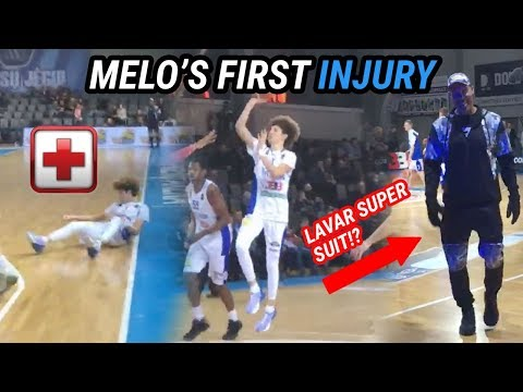 LaMelo Ball Suffers Leg Injury In UGLY LOSS! Gelo Leads Team With 26 Points!