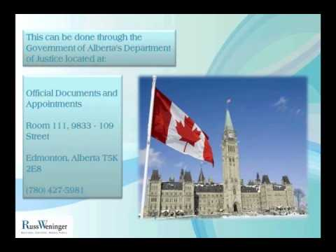 Alberta, Canada Notary Services FAQ 4