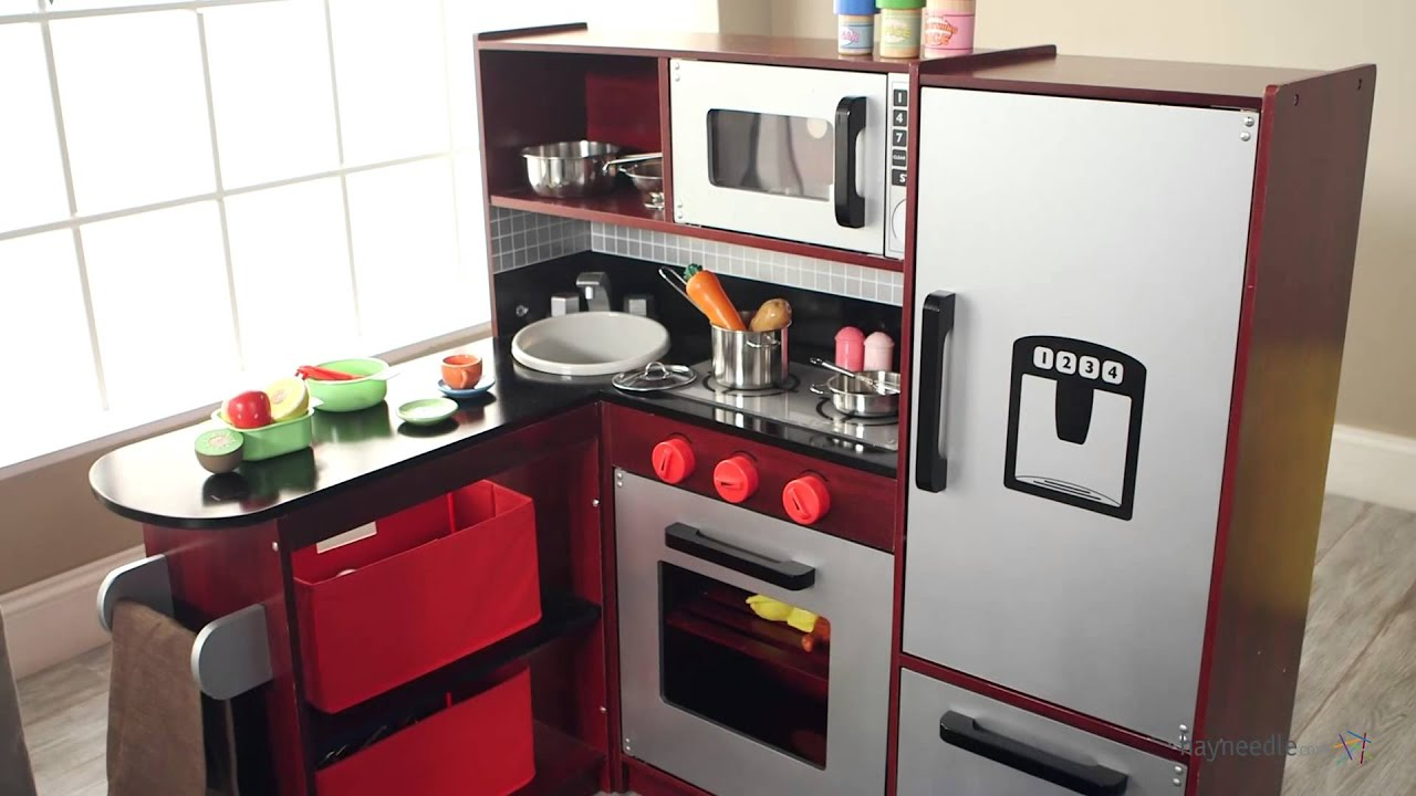 Etonnant Guidecraft Master Chef Corner Play Kitchen   Product Review Video   YouTube