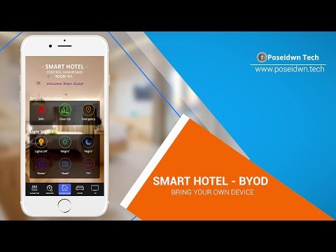 Smart Hotel - Room Control Using KNX - BYOD(Bring Your Own Device)