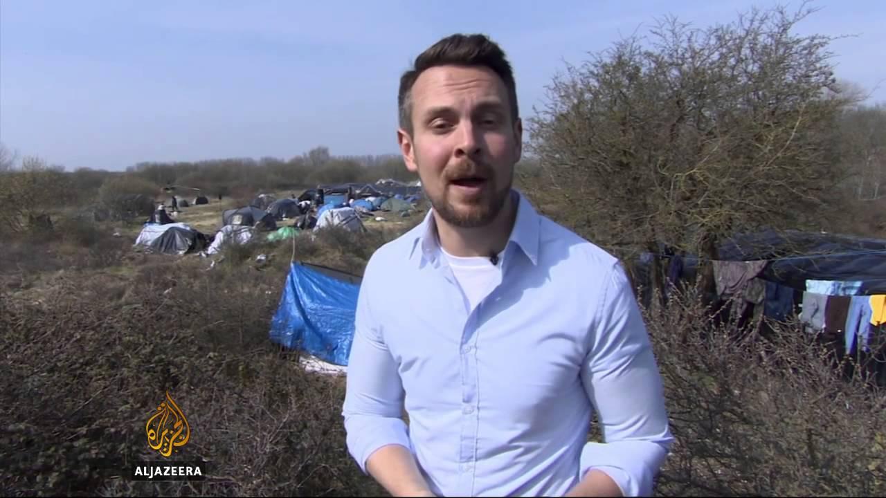 Refugees call France's Calais sites 'inhumane'