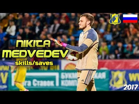 Nikita Medvedev - Young Blood -  Saves & Skills - FC Rostov 2017 HD