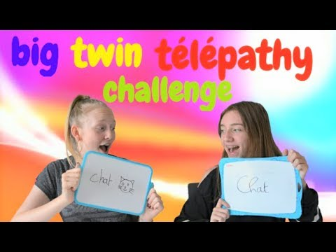 Big Twin telepathy Challenge - Avec ma meilleure amie