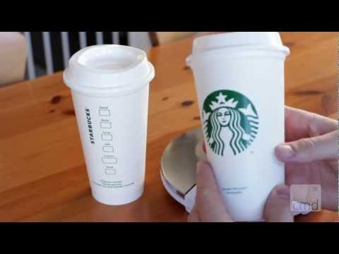 Starbucks New $1 Resusable Coffee Cups