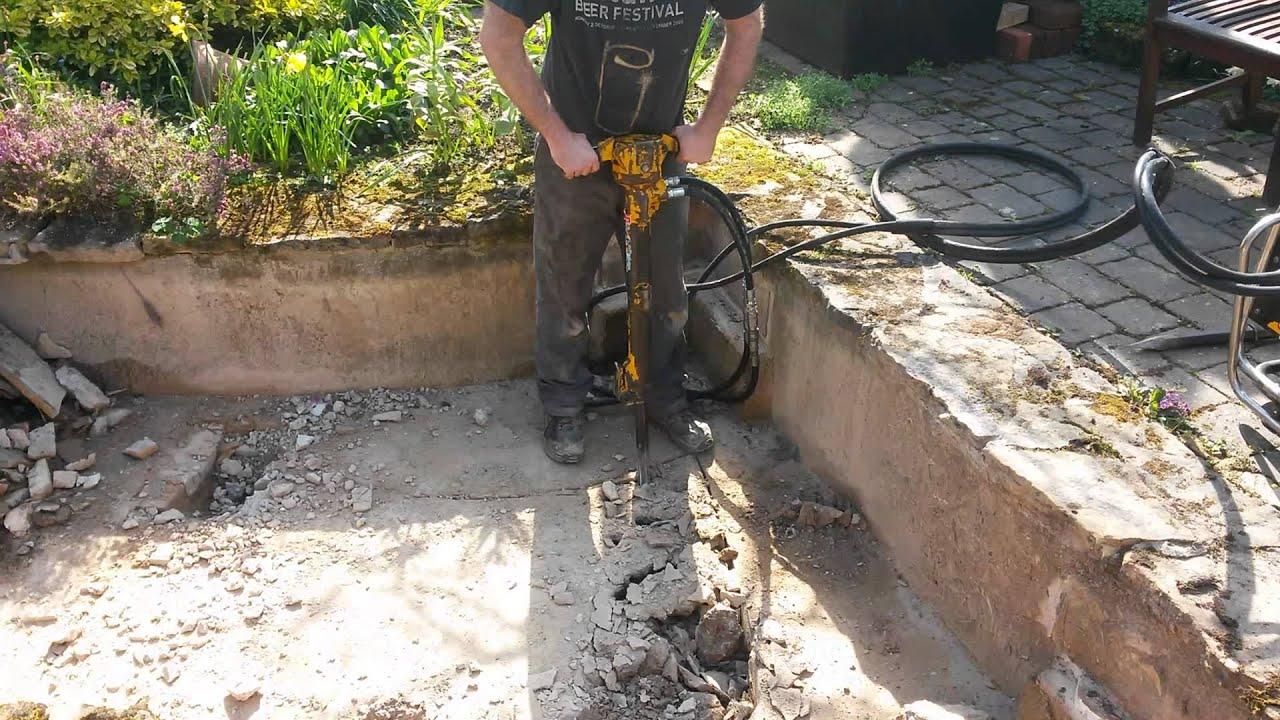 Breaking Up Concrete Patio Designs