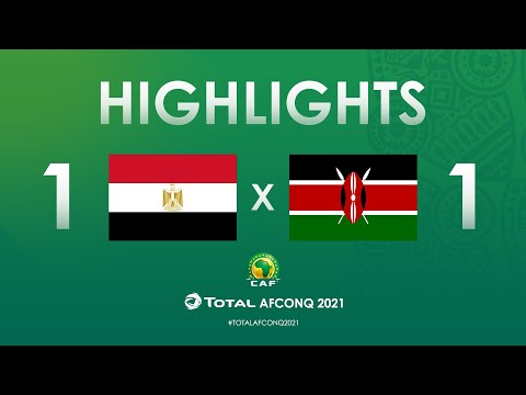 HIGHLIGHTS | #TotalAFCONQ2021 | Round 1 - Group G: Egypt 1-1