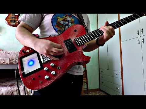 Muse - Thought Contagion - Guitar cover by Luca Nisi [RedGlitter replica] HD