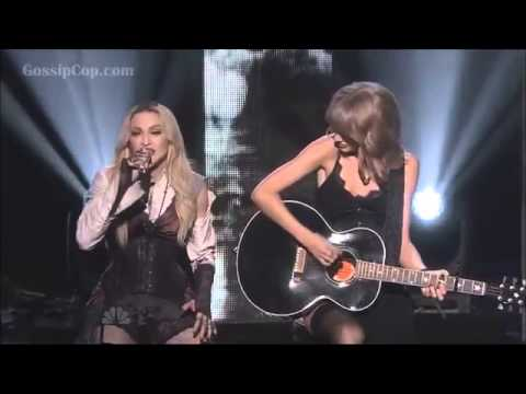 Taylor Swift and Madonna - Ghosttown (live at iHeartRadio)