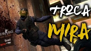 CS:GO - COMO MUDAR A MIRA!  (Personalizar Crosshair NO Counter Strike)