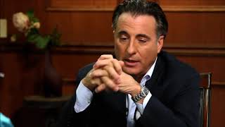 Hologram failure. Andy Garcia reptilian scales