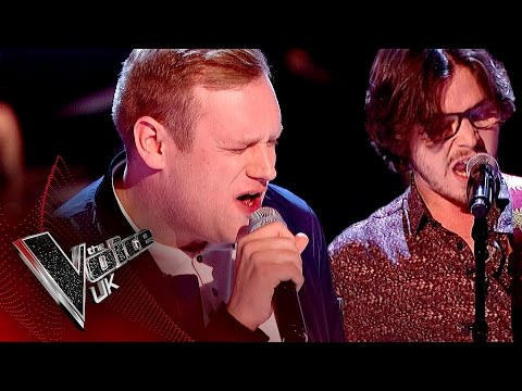 Jason Jones vs. Lawrence Hill - 'Long Train Runnin': The Battles | The Voice UK 2017