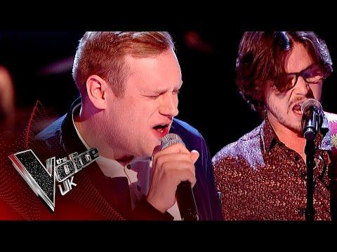 Jason Jones vs. Lawrence Hill - 'Long Train Runnin': The Battles   The Voice UK 2017