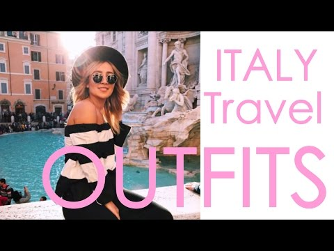Italy Travel Outfits | SCHANNALOVES
