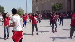 Sept. 13, 2013 Flash Mob at Our Lady of the Holy Rosary Church, Qatar
