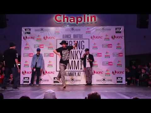 Dauren vs Almas | Popping 1/2 Final | Spring Funky Summit 2017