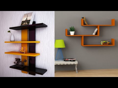 Beautiful Living Room Wall Display Shelves 2020 Modern Stylish Wall Rack Design Ideas Youtube