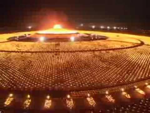 Wat Phra Dhammakaya Year 2553 Youtube