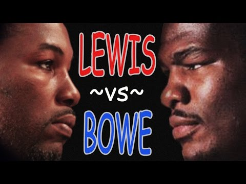 The tale of Lennox Lewis and Riddick Bowe