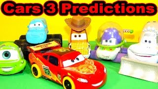 Cars 3 Trailer Predictions Lightning McQueen joins the Toy Story Circus with Woody and Buzz