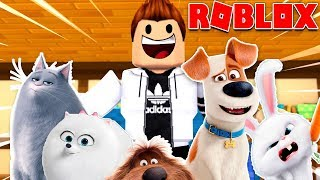 SECRET LIFE OF PETS 2 IN ROBLOX!