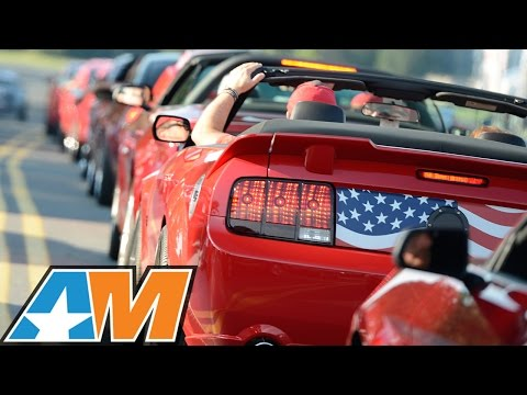 AM2015 AmericanMuscle Car Show: World's Largest Charity Mustang Car Show!