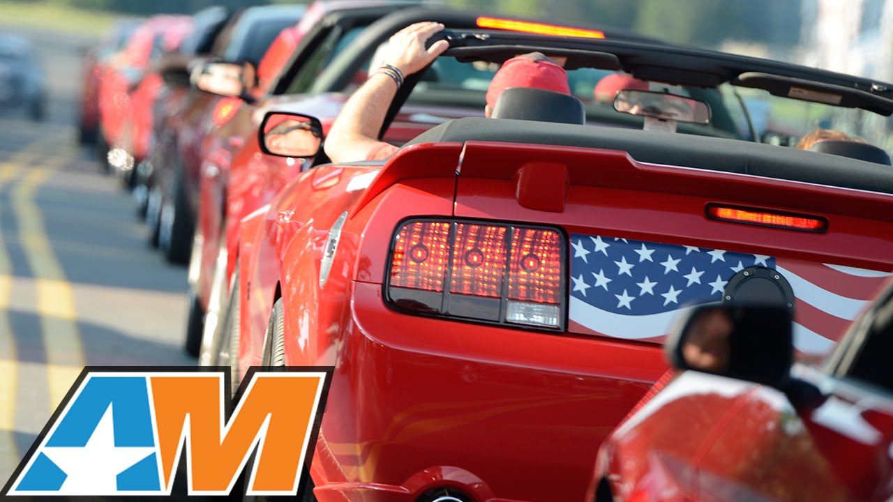 AM2015 AmericanMuscle Car Show: World\'s Largest Charity Mustang ...