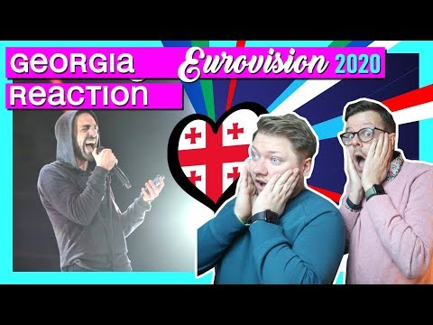 Georgia Eurovision 2020 // REACTION VIDEO // Tornike Kipiani - Take Me As I Am