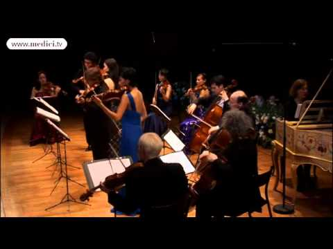 Sergey Khachatryan, Yuki Manuela Janke, Manrico Padovani, Hyun-Su Shin play Vivaldi at the Louvre