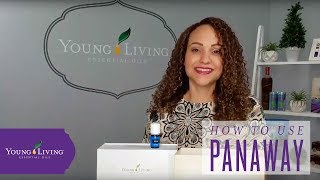 How To Use PanAway Essential Oil Blend by Young Living