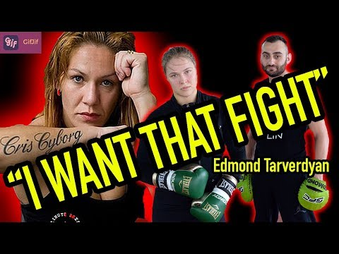 🔴 IS RONDA ROUSEY VS CRIS CYBORG HAPPENING??? + THE CREATOR OF THE GifJif APP