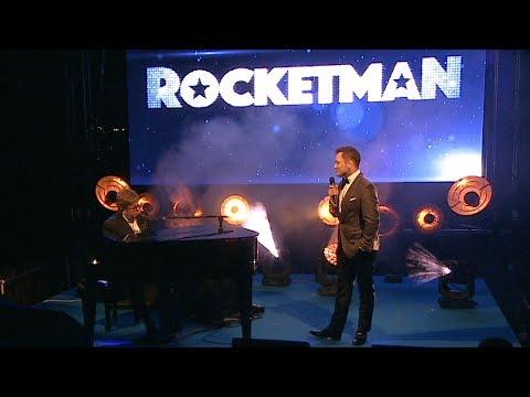 Elton John and Taron Egerton perform Rocket Man together as movie premieres | MusicRadar