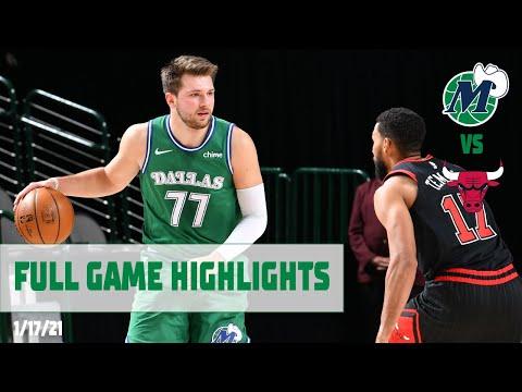 Luka Doncic (36-16-15) Highlights vs. Chicago Bulls