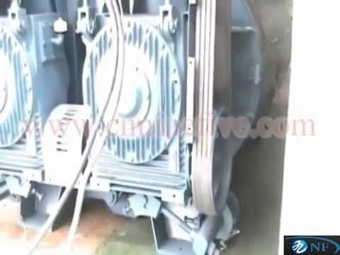 Twin-shaft Concrete Mixer Working Status