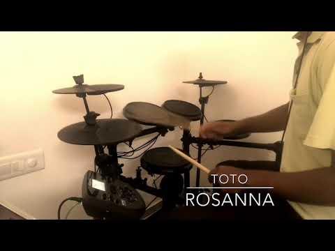 Rosanna - Toto (Mini Drum Cover)