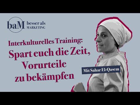 """Interkulturelles Training: """" Spart euch die Zeit, Vorurteile zu bekämpfen"""" - Sahar El-Qasem"""