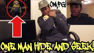 SCARY ONE MAN HIDE AND SEEK CHALLENGE! DOLL HAUNTS ME!