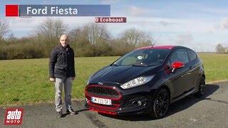 Ford Fiesta Ecoboost   sobriété du moteur 3 cylindres 2015