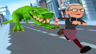 Angry Gran Run - Running Game (by Ace Viral) android gameplay walkthrough - pupugaming screenshot 4