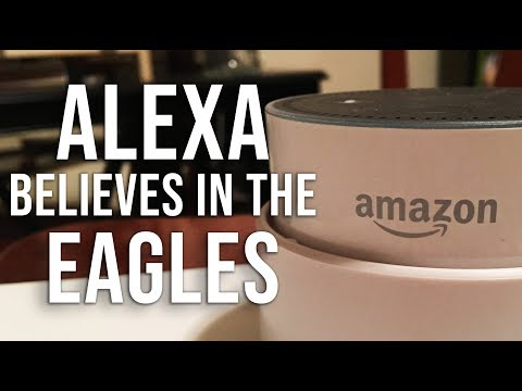 Amazon Alexa believes in a Philadelphia Eagles Super Bowl
