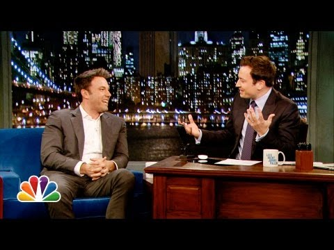 Ben Affleck Tells Parenting Stories, Talks Batman (Late Night with Jimmy Fallon)