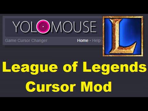 YoloMouse Cursor Mod - Tutorial - League Of Legends