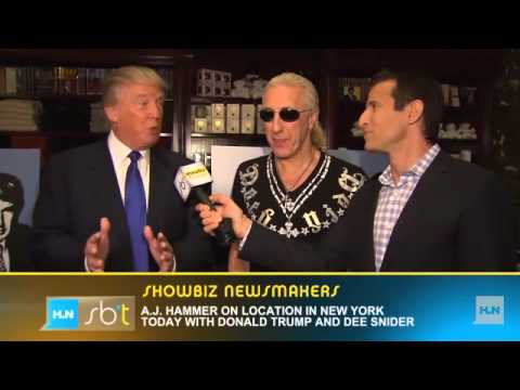 Dee Snider reacts to getting '€˜fired'€™ by Trump