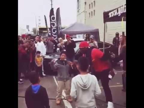 My dad has a GTR  . Kids Rap battle Enjoy !!