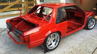 1989 Ford Mustang LX 5.0 Jon Kaase 2000 HP Twin Turbo Build Project