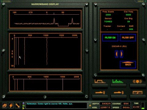 Dangerous Waters Tutorials Part 08 - Submarine Sonar Tutorial