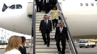 Arrival in Brussels, Belgium 9/15/2014