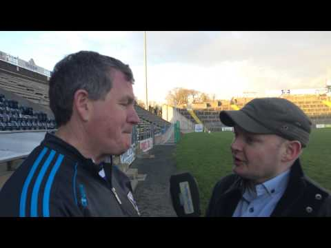 19 January 2015 BOI McKenna Cup Rd 3 v Monaghan. Manager's Post Match Interview