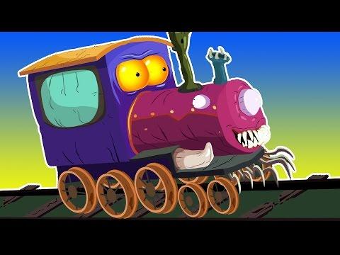 melatih untuk anak-anak   cuci mobil Video   halloween kendaraan   Kids Toy Train   Train Carwash