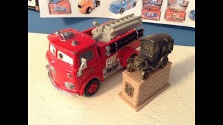Disney Cars Original Red and Stanley Statue Review (Wayback Wednesday #1)