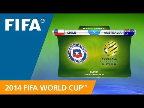 Chile v. Australia - Teams Announcement